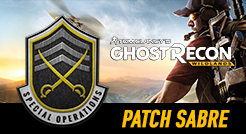 GHOST RECON WILDLANDS: PATCH SABRE